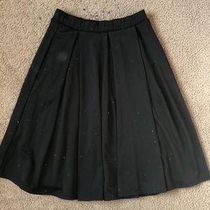 LuLaRoe Black Madison Skirt